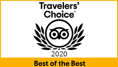 Tripadvisor 2020 Travelers Choice!